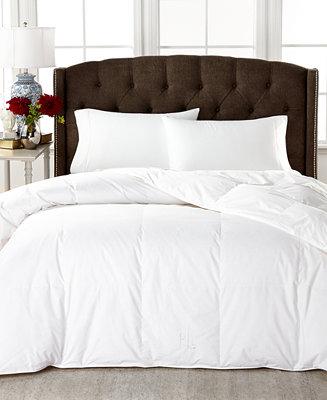 Lauren Ralph Medium Weight White Down Full Queen Comforter 100 Cotton Cover Comforters Alternative Bed Bath Macy S
