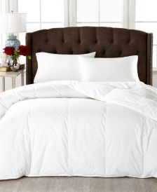 Medium Weight White Down Full/Queen Comforter, 100% Cotton Cover