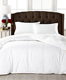 Lauren Ralph Lauren Medium Weight White Down King Comforter 100 Cotton Cover Bedding