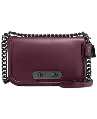 classic coach bags outlet fmie  COACH Swagger Shoulder Bag in Glovetanned Leather