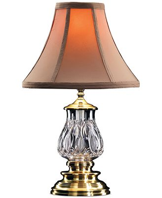 waterford table lamp, blue bell - lighting & lamps - for the home