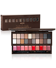 NYX Professional Makeup Nude On Nude Eye & Lip Palette