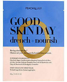 Peach & Lily Good Skin Day Drench + Nourish Sheet Mask, 0.85 fl oz