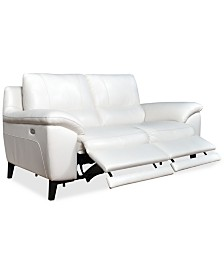 """CLOSEOUT! Stefana 76"""" 2-Pc. Power Reclining Sectional Sofa, Created for Macy's"""