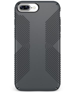 SPECK Presidio Grip Iphone 7 Plus Case in Graphite Grey/ Charcoal Grey