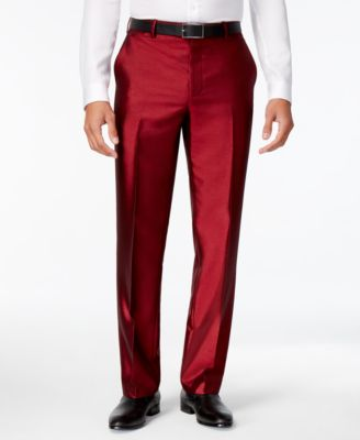 I.N.C. Men's Shiny Pants, Created for Macy's