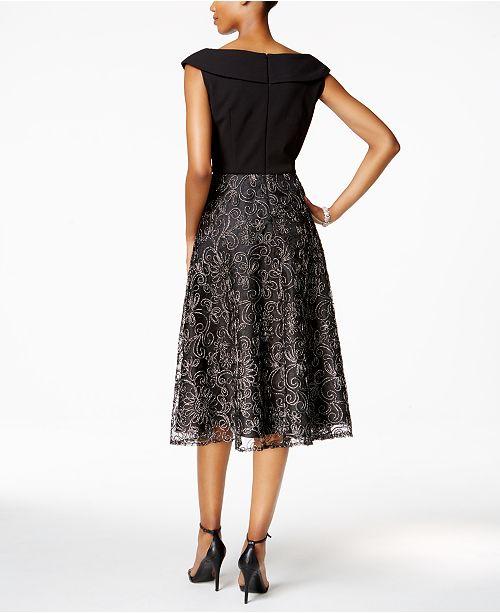 bef41902815a2 Alex Evenings Embellished A-Line Dress - Dresses - Women - Macy s