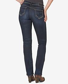 Suki Mid Rise Curvy Slim Bootcut Jeans