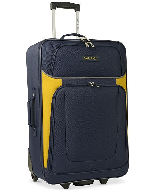 Nautica Oceanview 5 Piece Luggage Set Created For Macy S
