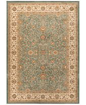 CLOSEOUT! KM HOME Oxford Kashan Seafoam Area Rugs