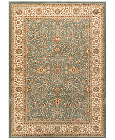 "CLOSEOUT! KM Home Oxford Kashan Seafoam 7'10"" x 10'3"" Area Rug"
