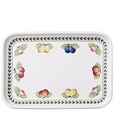 Villeroy & Boch French Garden Rectangular Baking Lid & Serving Plate