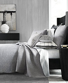 Hotel Collection Colonnade Dusk Quilted King Coverlet, Created for Macy's