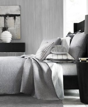 Hotel Collection Colonnade Dusk Quilted King Coverlet, Created for Macy's Bedding 3582520