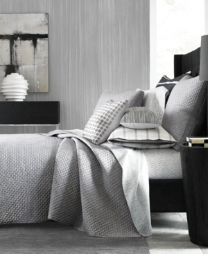 Hotel Collection Colonnade Dusk Quilted FullQueen Coverlet Created for Macys Bedding