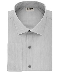 Kenneth Cole Reaction Men's Slim-Fit Techni-Cole Stretch Performance French-Cuff Dress Shirt