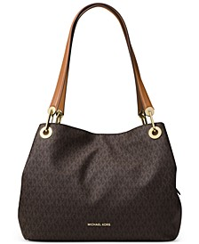 Signature Raven Large Tote