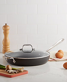 """All-Clad Hard Anodized 12"""" Fry with Lid"""