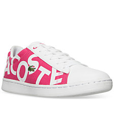 Lacoste Little Girls' Carnaby EVO Logo Casual Sneakers from Finish Line