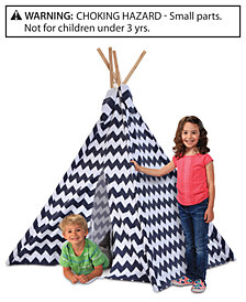 Discovery Kids Wood and Canvas Play Teepee