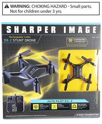 Sharper Image Dx 2 Stunt Drone All Toys Games Kids Macys