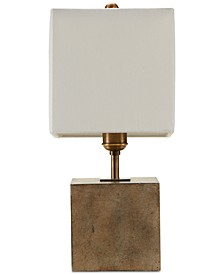 Quad Gray Accent Table Lamp