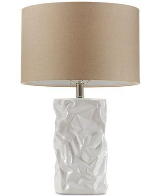 Madison park crimp ceramic table lamp