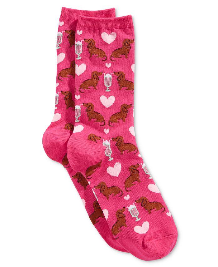 Hot Sox - Women's Dogs and Milkshake Socks