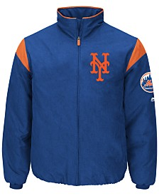 Majestic Men's New York Mets On-Field Thermal Jacket