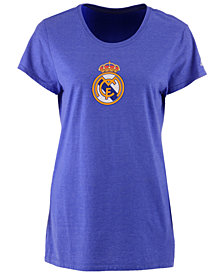 adidas Women's Real Madrid International Soccer Club Team Crest T-Shirt