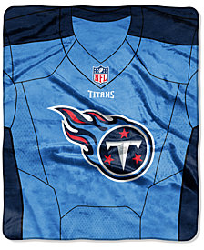 Northwest Company Tennessee Titans Jersey Plush Raschel Throw