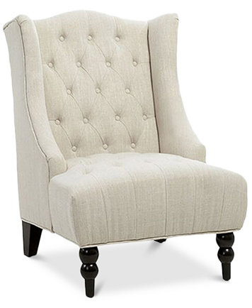 Fabyan High Back Wing Chair Quick Ship Furniture Macy S