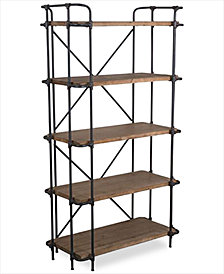 Beckert Indoor/Outdoor 5-Shelf Bookcase, Quick Ship