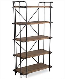 Beckert 5-Shelf Bookcase, Quick Ship