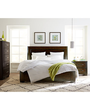Fairbanks King Bedroom Furniture, 3-Pc. Set (Bed with USB Outlets ...