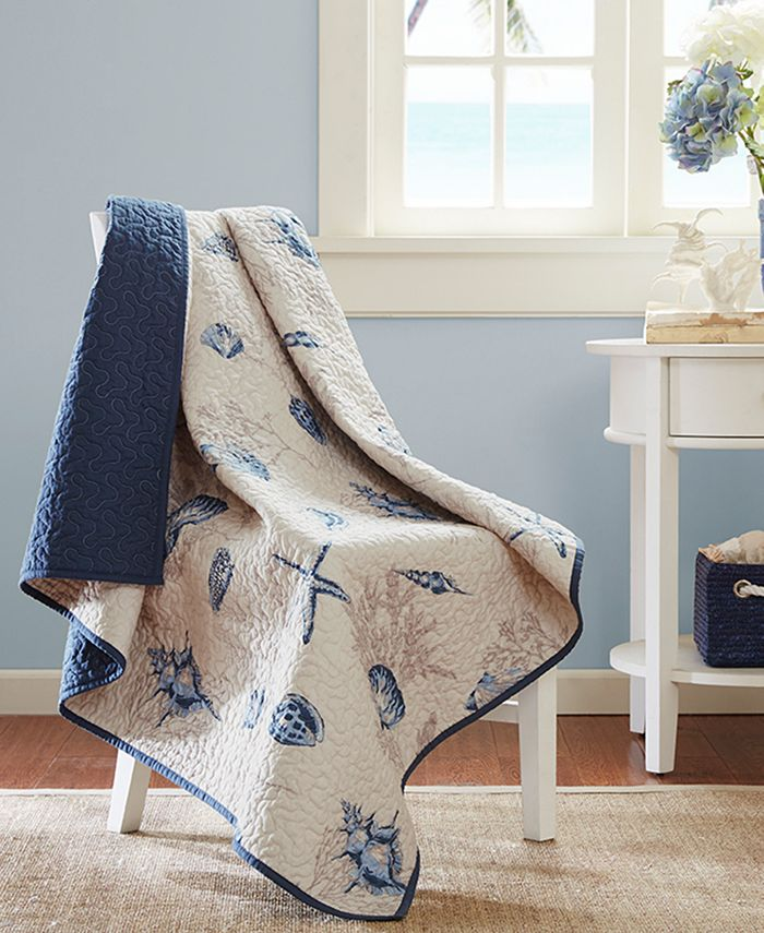 Madison Park - Bayside Quilted Oversized Throw