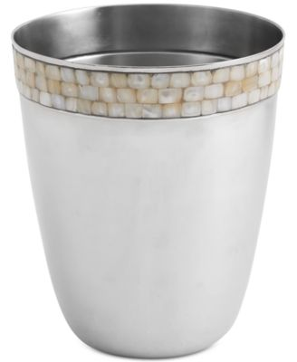 Opal Shiny Wastebasket