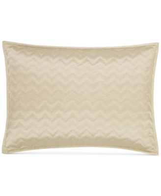Distressed Chevron Quilted Standard Sham, Created for Macy's