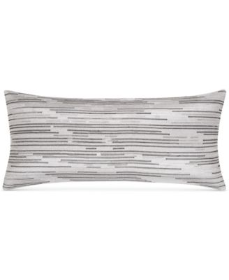 """CLOSEOUT!  Colonnade Dusk 12"""" x 26"""" Decorative Pillow, Created for Macy's"""
