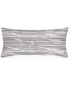 "CLOSEOUT! Hotel Collection  Colonnade Dusk 12"" x 26"" Decorative Pillow, Created for Macy's"