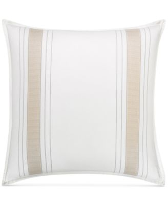 CLOSEOUT!  Woven Accent European Sham, Created for Macy's
