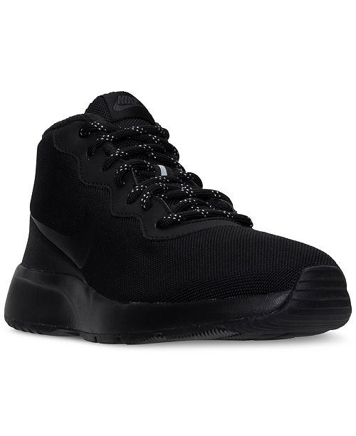 new product 041fb b551d ... Nike Men s Tanjun Chukka Casual Sneakers from Finish ...
