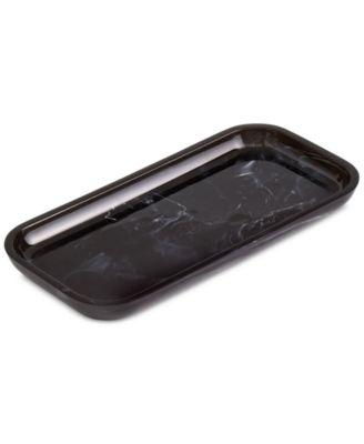 Murano Black Bath Tray