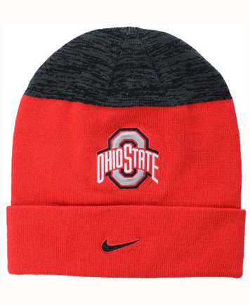 competitive price fb92a 2d103 Nike Ohio State Buckeyes Sideline Knit Hat - Sports Fan Shop By Lids ...