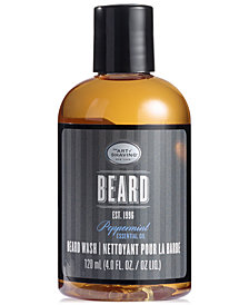 The Art of Shaving Men's Peppermint Beard Wash, 4 oz