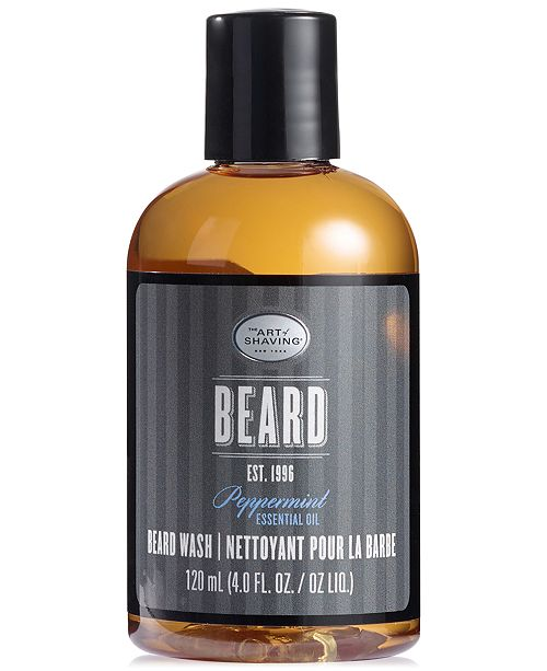 Art of Shaving The Men's Peppermint Beard Wash, 4 oz