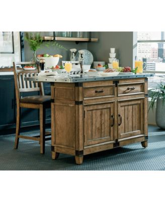 Metalworks Kitchen Island Collection