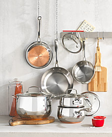 Belgique Copper Bottom 10-Pc. Cookware Set, Created for Macy's