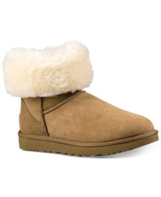 ugg women s classic ii genuine shearling lined short boots boots rh macys com