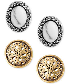 Lucky Brand 2-Pc. Set Stud Earrings